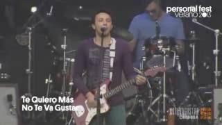 No Te Va Gustar - Te quiero más - Personal Fest 2013