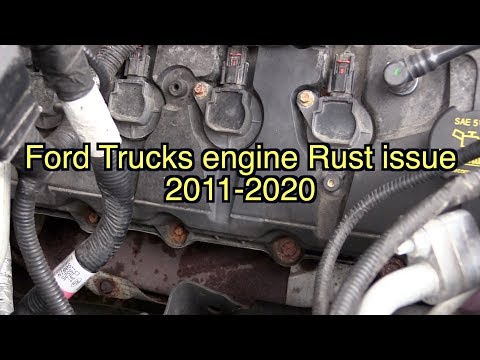 2020 Ford 7.3 gas engine, F-150 rust issues, ford exhaust manifold rust, 6R80 10R80