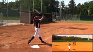 Erica Davis Softball Skills Video Class of 2014.mp4