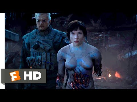 Ghost in the Shell (2017) - Consent to Kill Scene (10/10) | Movieclips
