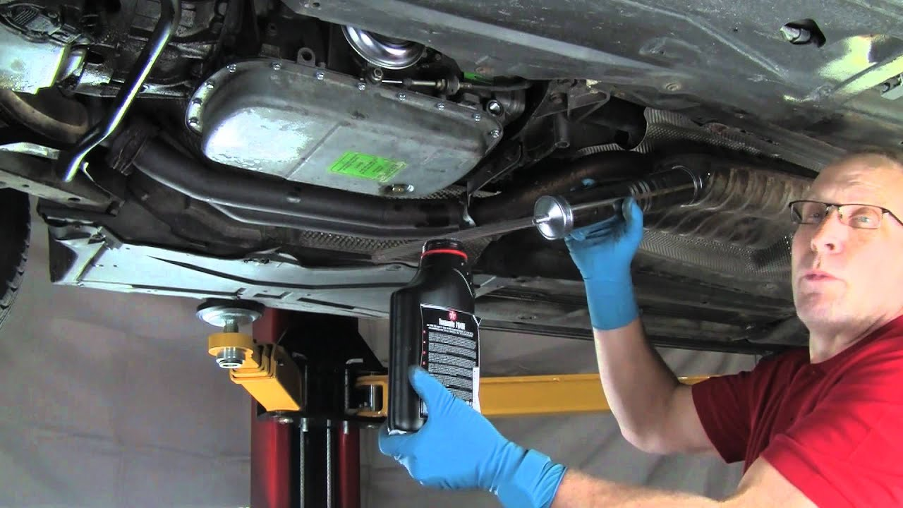 Part 2 Changing Automatic Transmission Fluid  Filter On A BMW