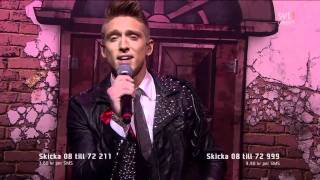 8. Danny Saucedo - In The Club (Melodifestivalen 2011 Deltävling 1) 720p HD