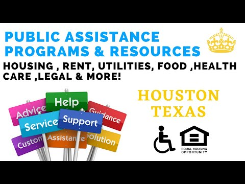 Emergency Housing Houston & Utility Assistance Houston - Food Stamps & Health Care