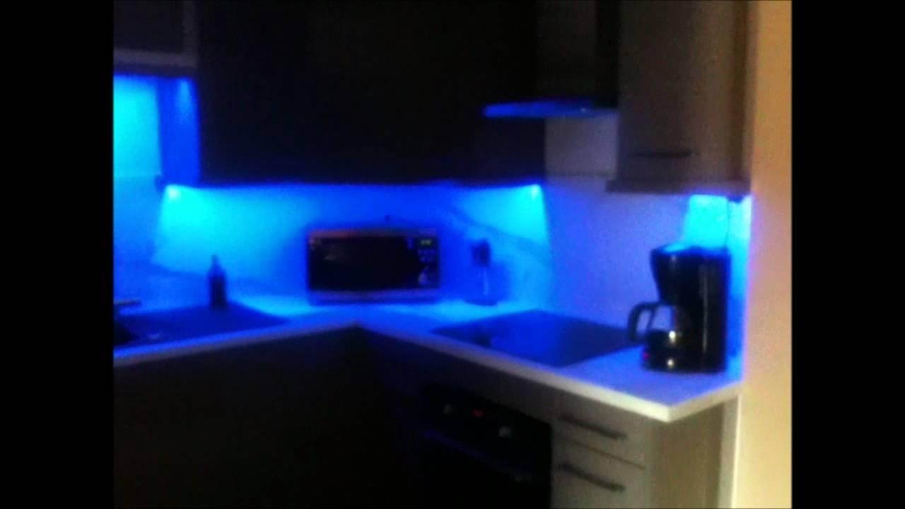 salon et cuisine led - YouTube