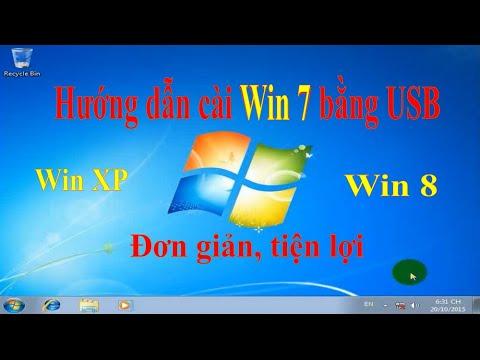 Hướng dẫn cài windows 7 bằng USB từ A tới Z cực kỳ đơn giản | Nga IT