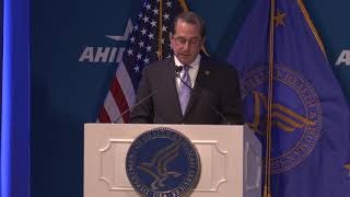 Secretary Azar's remarks to AHIP about changing America's healthcare system