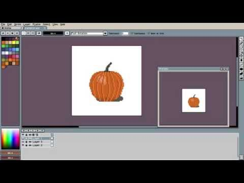How to use Aseprite - Interface and Basics - Pixel Art