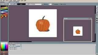 how to use aseprite interface and basics pixel art