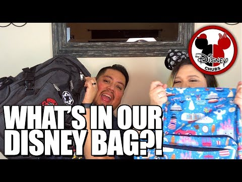 What's in our Disney Parks Bag - With the Chubs