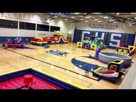 Geneva High School Post Prom by Castle Party Rental 630-400-6545