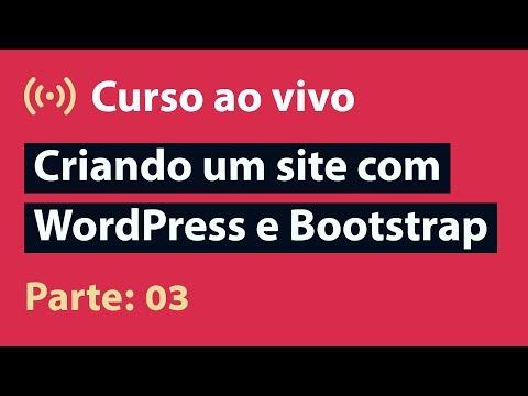 🔴 Live: Layout (HTML + CSS) | Criando Um Site Com WordPress E Bootstrap - Parte 03