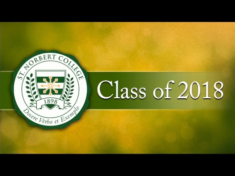 St. Norbert College Commencement 2018