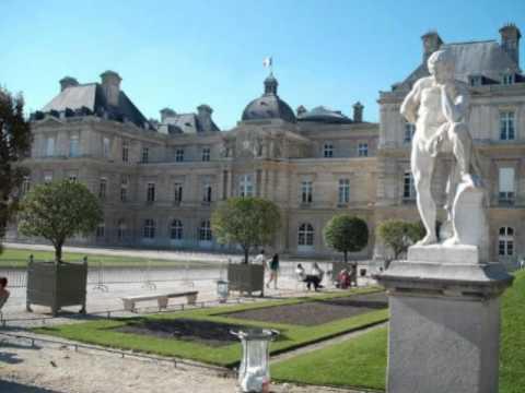 Los jardines del palacio de luxemburgo par s youtube for Jardines de luxemburgo paris
