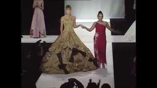 Модный показ Куралай Нуркадиловой на Каннах 2006 год