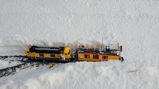 WORK NG Lego Train Snow Plow