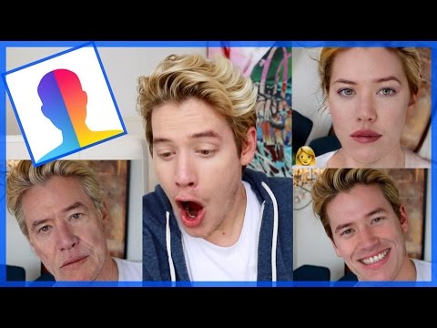 Trying FaceApp DISGUSTING!