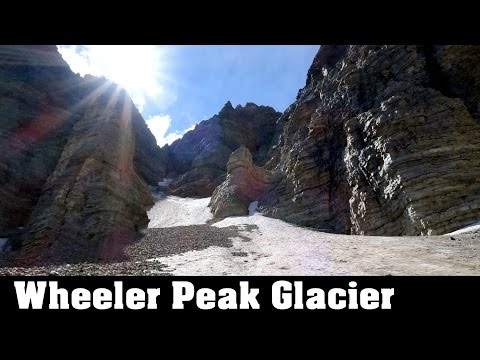 Glacier in Nevada? Yes at Great Basin National Park - Nevada