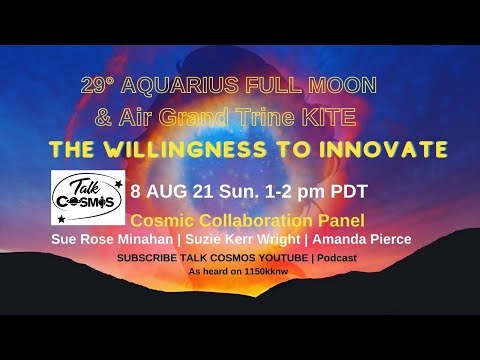 TALK COSMOS 08 Aug 21: Cosmic Collaboration - The Willingness to Innovate