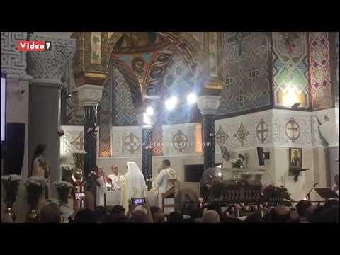 آلاف الأقباط يطلبون البركة من القديسة تريزا وردة المسيح في عيدها.  - 15:54-2019 / 10 / 3