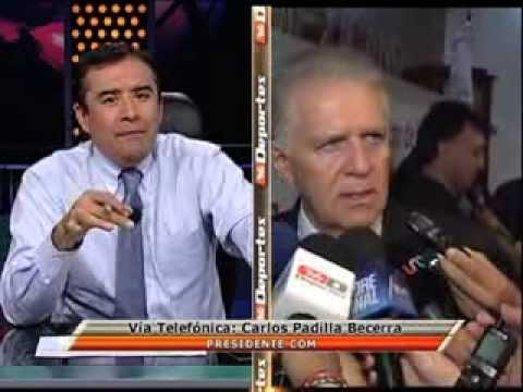 Carlos Padilla desmiente haber declarado que Jesus Corona está involucrado en caso de clembuterol