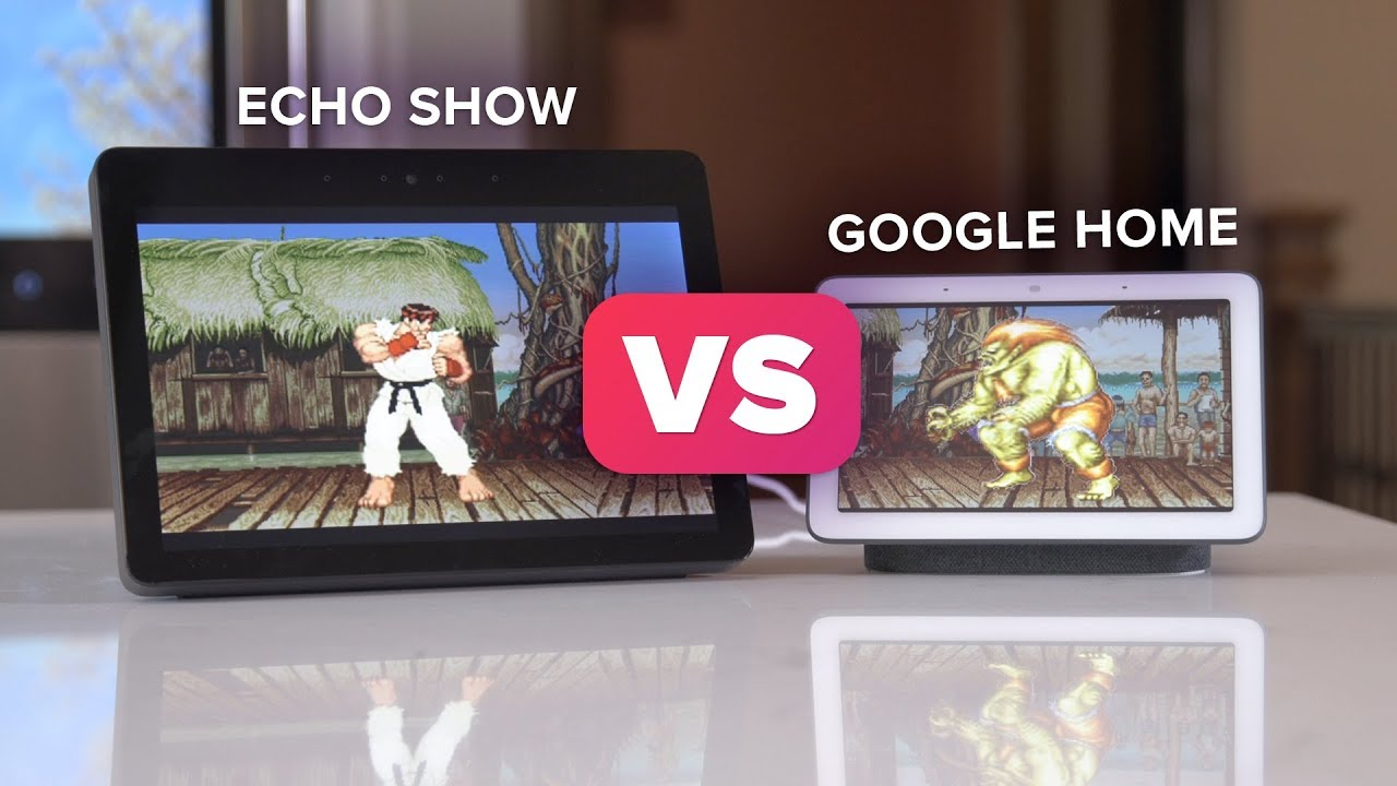 Google Home Hub vs  Amazon Echo Show: Which one is better?