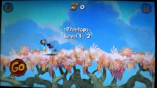 Windows 8 Rayman Jungle run game review