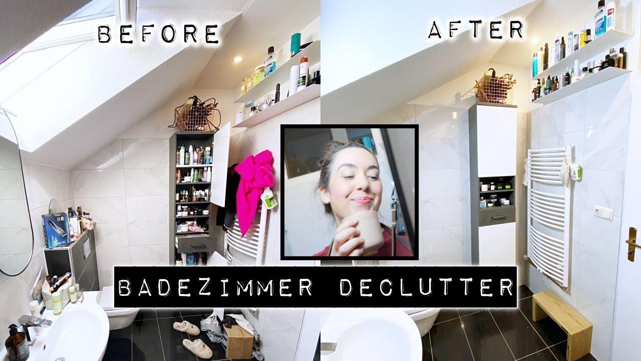 XXL Badezimmer Declutter & Organisation I Alles muss raus