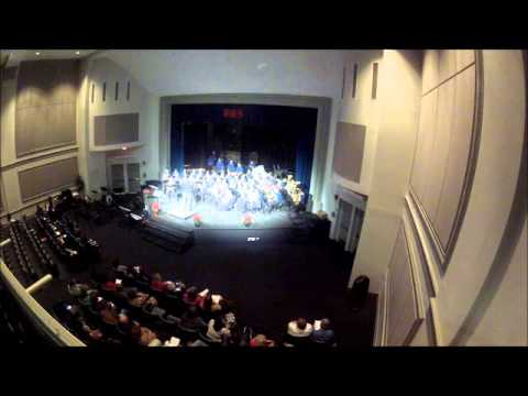 "Bon Lin Middle School Concert Band performs ""Snow Globe"""