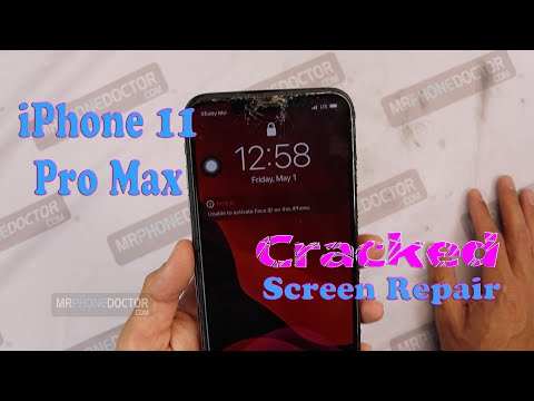 IPhone 11 Pro Max Broken Screen Refurbish - Most Affordable Cracked Screen Repair!