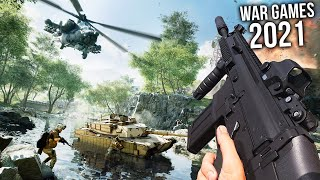 Top 10 NEW WAR GAMES of 2021