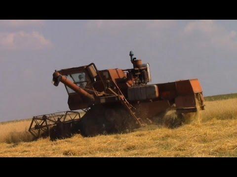 Russian farmers. Harvesting Grain Crops. Combine harvester. Русские фермеры. Уборка урожая 2016