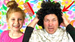 Što Se Dogodilo u Frizerskom Salonu? Šišanje! Otvaramo Frizerski Salon.