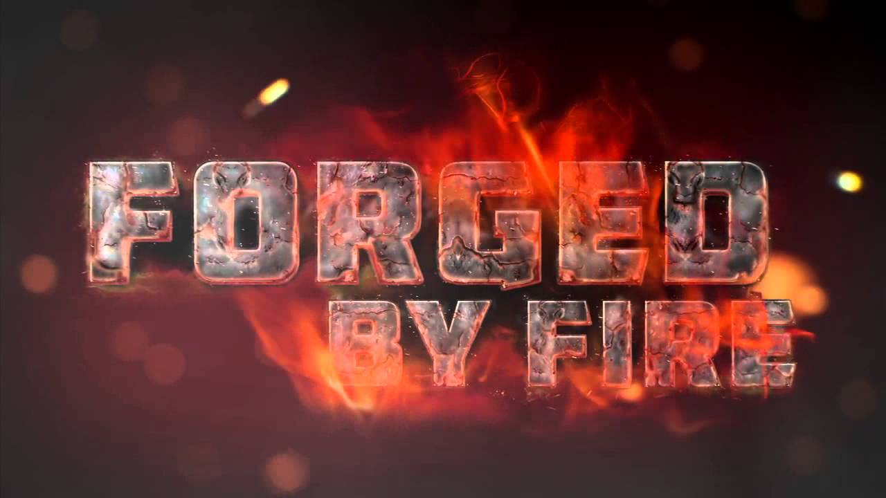 "forged by fire Before watching forged in fire, i read up about it apparently it's ""like the bake off, only with viking battleaxes, samurai swords and indian claw daggers"" is."