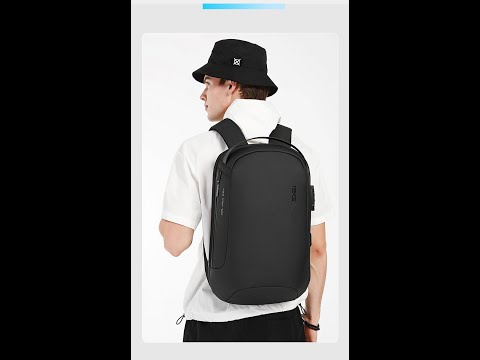 New Design College School Waterproof Anti Theft Unisex Laptop  Backpack