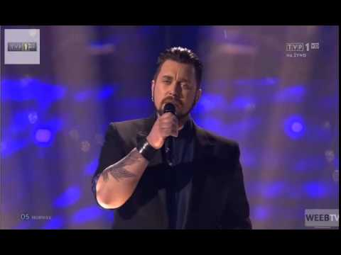 HD Eurovision 2014 Norway Grand Final: Carl Espen - Silent Storm ( LIVE )