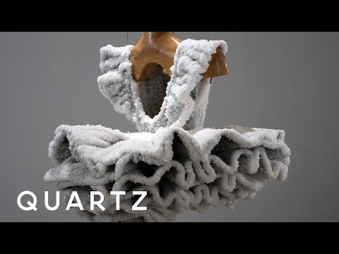 Dead Sea salt makes everyday objects into ethereal sculpture