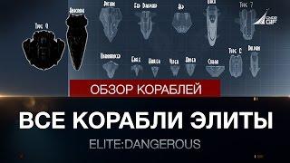 Elite:Dangerous - Обзор всех кораблей Элиты