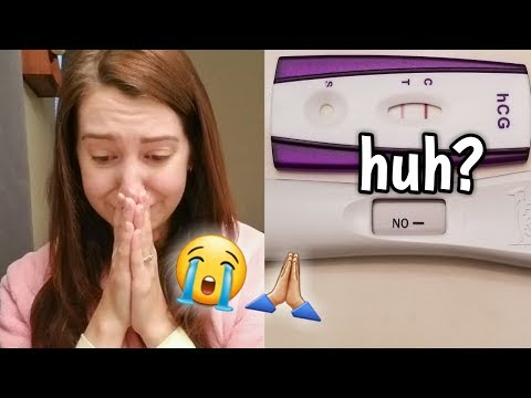 NEGATIVE PREGNANCY TEST BUT STILL PREGNANT?! | *EMOTIONAL* REACTION | ERIKA ANN