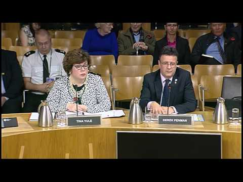 Justice Committee - Scottish Parliament: 4th November 2014