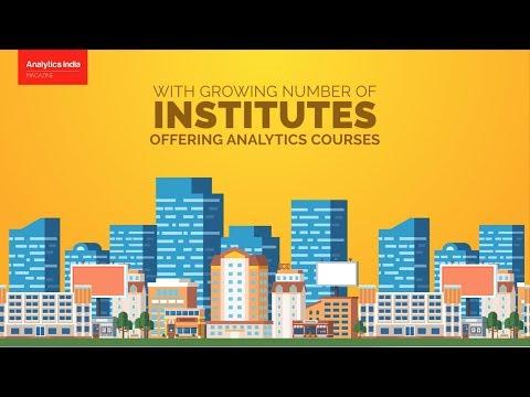 Top 10 Analytics / Data Science Training Institutes In India- Ranking 2017