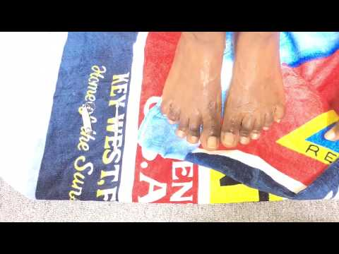 |HOW TO BRIGHTEN AND WHITEN YOUR TOENAILS AT HOME| SUMMER HAUL|