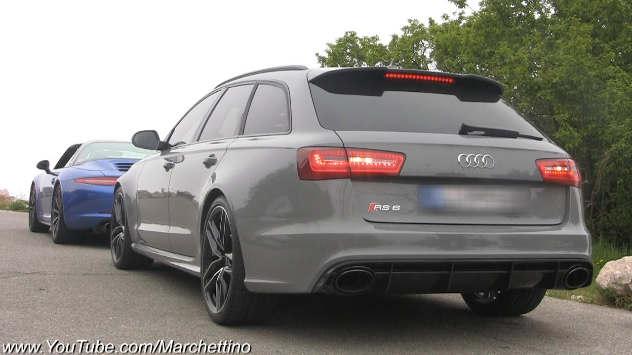 Audi RS6 C7 PURE Exhaust Note! - YouTube