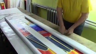 видео Производство баннеров. Баннер изготовление печать