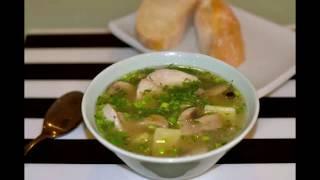 Суп с грибами и вермишелью. Как приготовить суп с грибами. Просто, Вкусно, Не дорого.