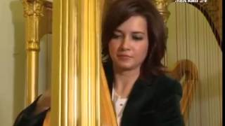 Смотреть видео Афиша - арфистка Надежда Сергеева - Москва 24 онлайн