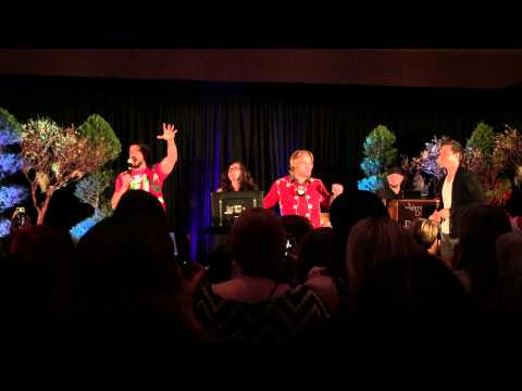 Chase Coleman, Chris Wood & Micah Parker introductions at TVD Orlando Karaoke Party