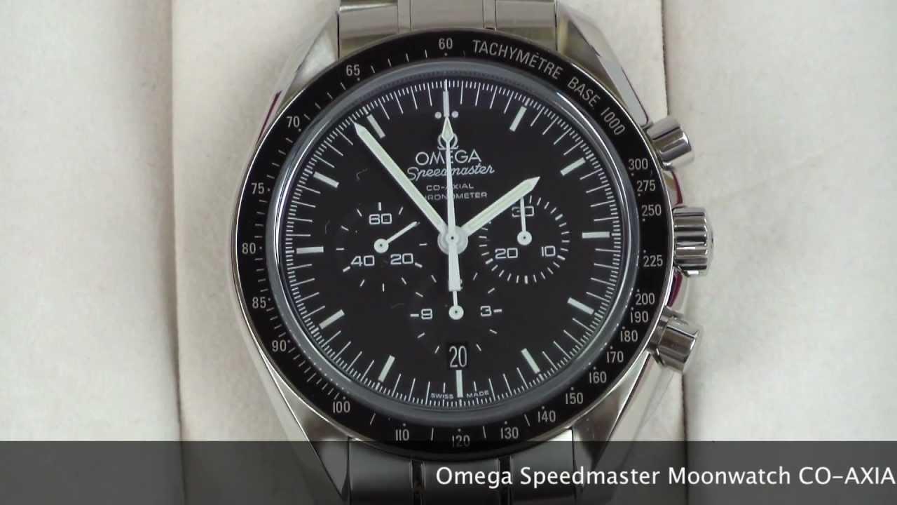 Omega Speedmaster Co-axial