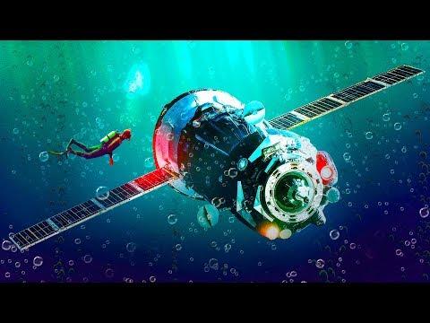 В самом отдаленном месте на Земле была обнаружена могила космических кораблей