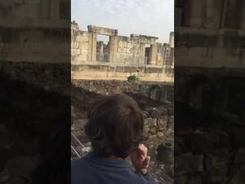 Caphernaum, Israel ruins - 5 Dec 2016