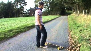 Longboard - How To Do a Shove It
